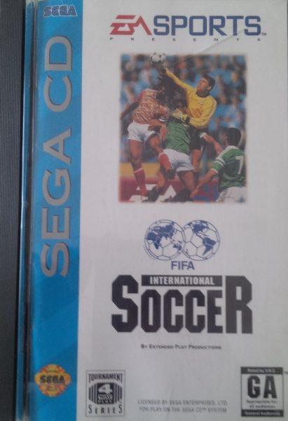 Fifa International Soccer (Sega CD)