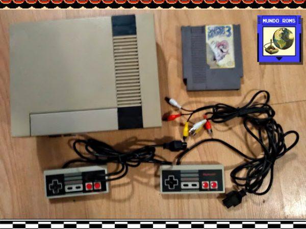 [VENDIDA] Nintendo NES Original + Super Mario 3 + 2 Controles Originales