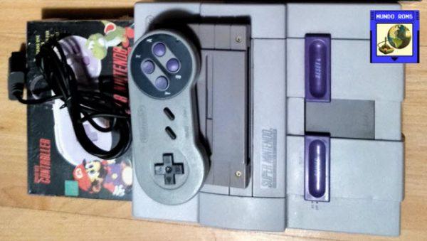 [VENDIDA] Nintendo SNES Original + Super Soccer + 2 Controles Nuevos