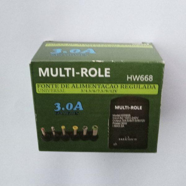 Transfomador Multivoltaje Multi-Role 3.0A