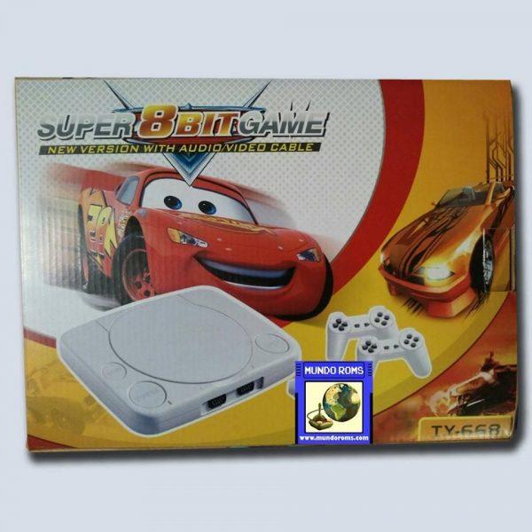 Consola Polystation Cars (14 juegos incorporados)