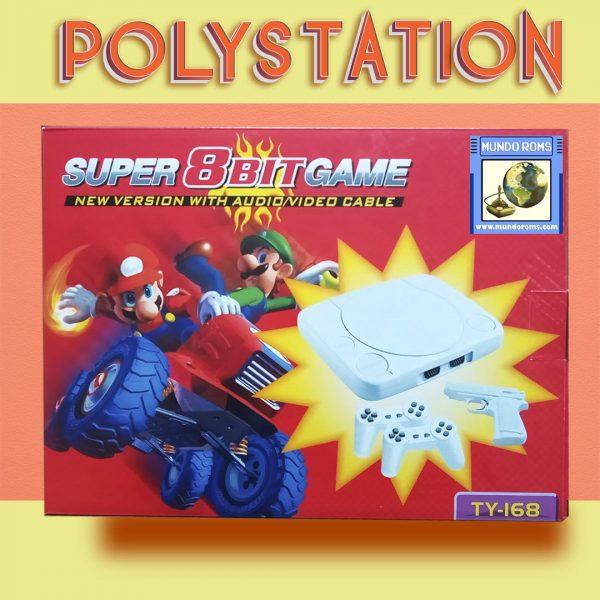 Consola Polystation Mario (14 juegos incorporados)