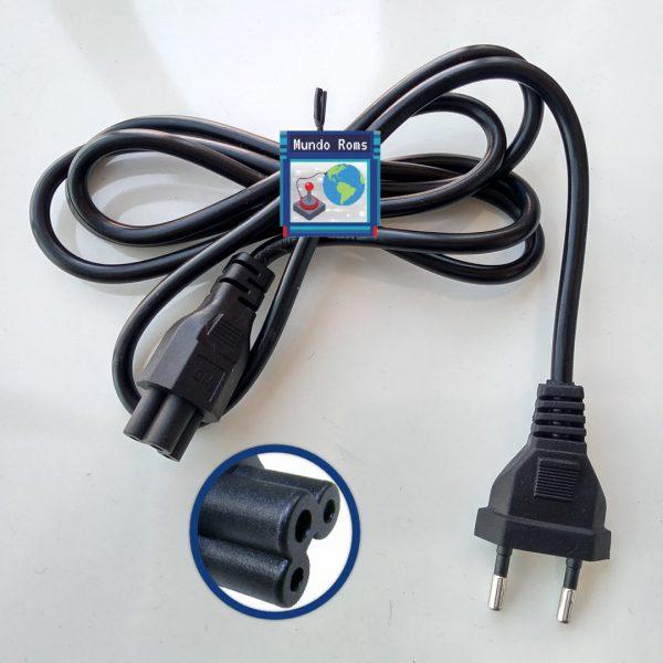 Cables NUEVOS de corriente Tipo Trebol Notebook Apple TV Consolas