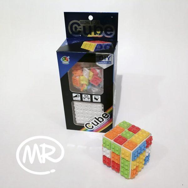 Cubo tipo Lego Rubik