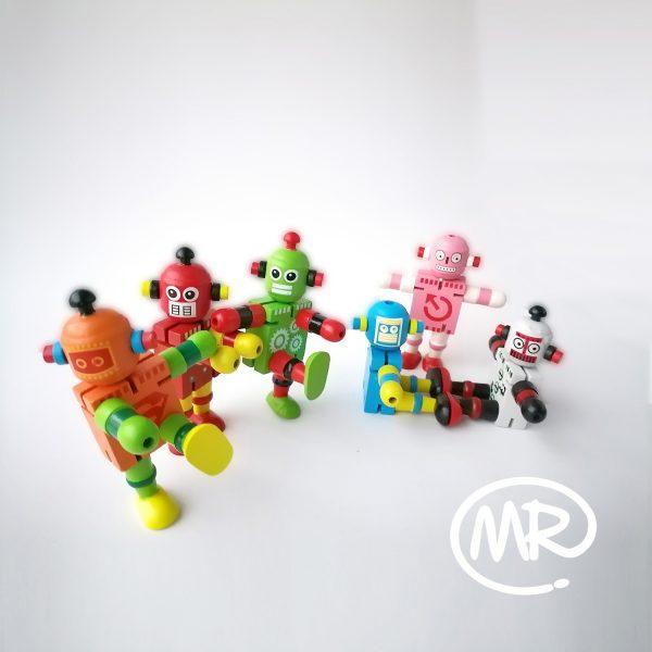 Robots didácticos de madera